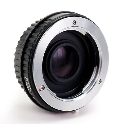 GFG Lens Mount Adapter - Minolta MD MC Lens to Canon EOS EF EF-S Mount Camera