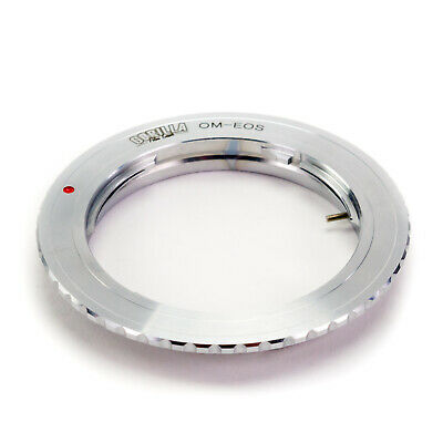 GFG Lens Mount Adapter - Olympus OM Lens to Canon EOS EF EF-S Mount Camera