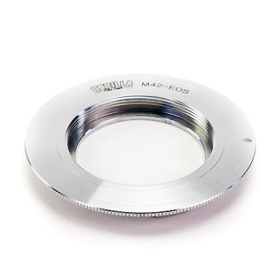 GFG Lens Mount Adapter - M42 Lens to Canon EOS EF EF-S Mount Camera