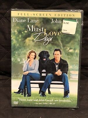 Must Love Dogs DVD Wide Screen Edition 2005 R3