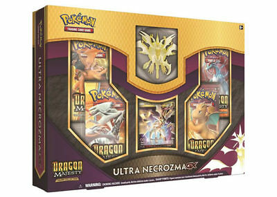 Dragon Majesty Ultra Necrozma GX Figure Collection Box 4 Booster Packs