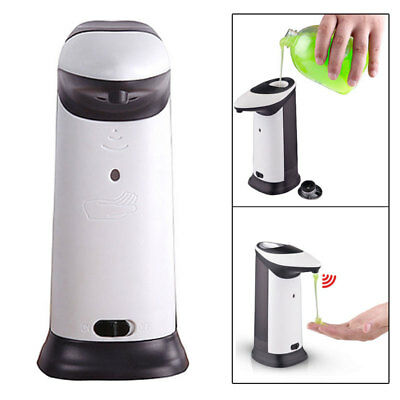 420ML Hands Free Automatic No Touch IR Sensor Soap Liquid Sanitizer Dispe Supply