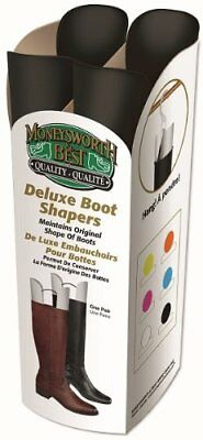 Moneysworth  Best Deluxe Boot Shaper, Black