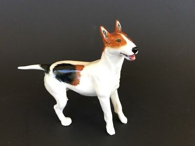Royal Doulton Bull Terrier HN2511 3 7/8 in. From Bill & Pat Edwards Collection