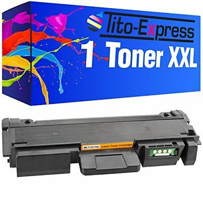 PlatinumSerie 1 Toner compatible with Samsung MLT-D116L Black Xpress M 2835 DW
