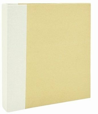 Kaisercraft Paper Captured Moments D-Ring Album 6-inch x 8-inch, Cream