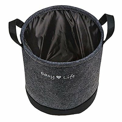 OOTB Laundry Bag, Easy Life, felt, Grey, 37.5 x 37.5 x 10 cm