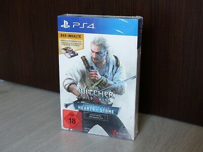 The Witcher 3 PS4 DLC(Hearts of Stone) + Gwint Kartendeck Nagelneu/OVP