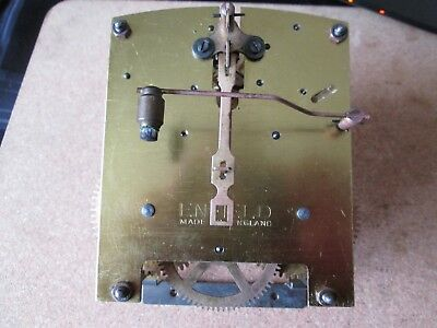 A Enfield Striking Mantel Clock Movement P/p On Payment No Delay