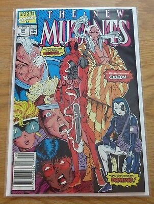 New Mutants #98 | HOT Key issue 1st Appearance Deadpool | (1991) | VF/NM