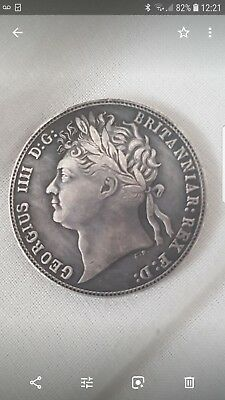 George 1820 coin