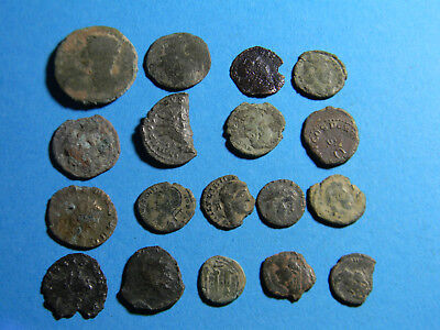 lot of (18) Ancient Roman Coins  (0308)