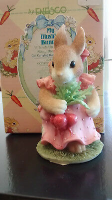 """My Blushing Bunnies """"Friendship Harvests many Blessings"""""""