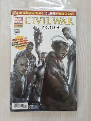 Civil War: Prolog; Die Neuen Rächer / Illuminati