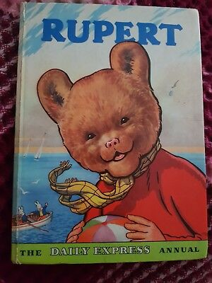 1959 Rupert Annual Good condition some neat colouring