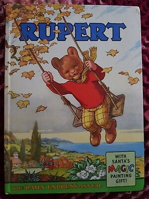 Rupert 1961 annual good condition name completed