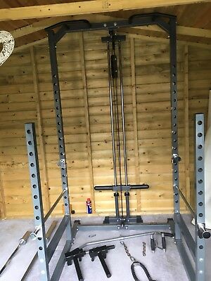 Bodymax Half Cage With Attactments And Dip Station