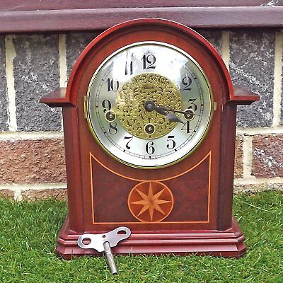 Franz Hermle Westminster Chime Platform Escapement Mantle Clock Spares / Repair