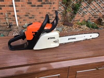 Stihl Chainsaw MS 171 in Excellent Condition, owned from new, hardly used.