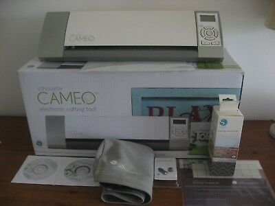 Silhouette Cameo Electronic Cutting Machine Used