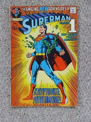 DC 'Superman' #233 – Classic Cover - Good Condition