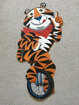 Kellogg's Tony the Tiger 3 foot poster cardboard cutout 1973