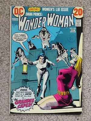 DC 'Wonder Woman' #203 – Very Good Condition