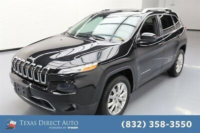 Jeep Cherokee Limited Texas Direct Auto 2015 Limited Used 3.2L V6 24V Automatic 4WD SUV