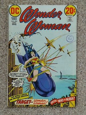 DC 'Wonder Woman' #205 – Good Condition