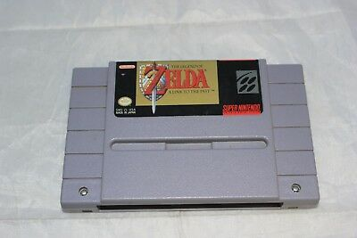 The Legend of Zelda: A Link to the Past SNES Authentic Original Game Only