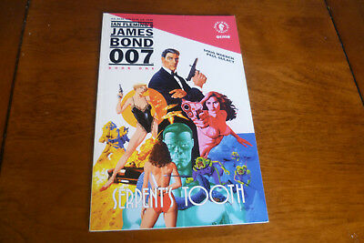1992 James Bond Graphic Novel - The Serpents Tooth - Book 1- Nr Mint