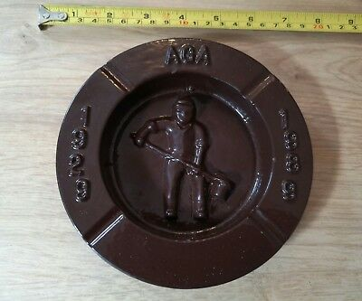 Vintage Cast Iron Ashtray Aga Ironbridge Coalbrookdale