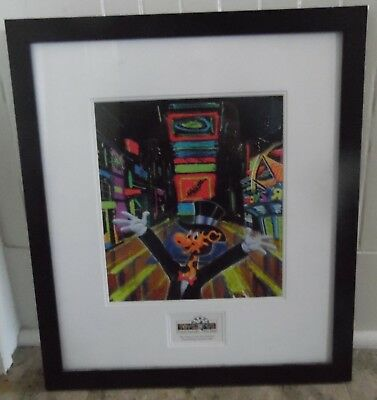 Super Rare Toys R Us Geoffrey Print Grand Opening Times Square New York 2001