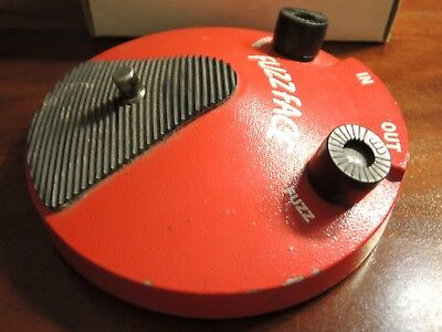 Dunlop Fuzz Face Distortion JD-F2 in OVP
