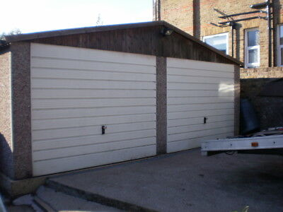 Compton Large Pre Fabricated Double 2 Car  Garage 19 Foot X 20 Foot