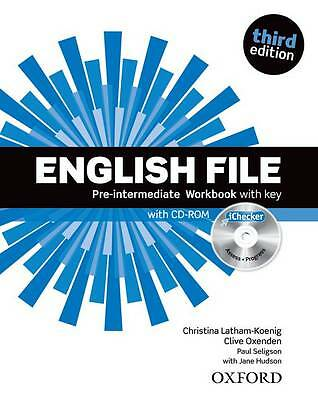 English File Pre-intermediate Workbook With Key With I-checker