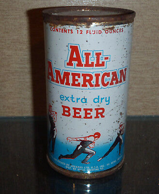 1950S All American Extra Dry Flat Top Beer Can Drewrys South Bend Ditr By Atlas