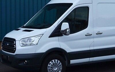 Fit Ford Transit Chrome Door Handle Cover Set Of 11 Pcs 2014-2019