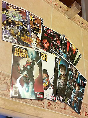 39 ULTIMATE MARVEL COMICS *NM*Team-Up Iron Man X4 Nightmare Mystery Ellis Bendis