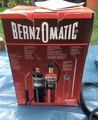 Bernzomatic Welding, Brazing, Soldering, Cutting Kit