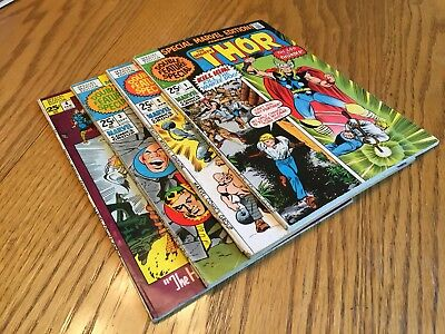 Special Marvel Edition #1-4 Lot! Thor! Avengers!!!