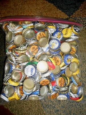 500 + Mixed Used Beer Bottle Caps. For Your Craft Projects.