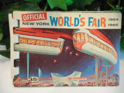 New York World's Fair Official 1964 1965 Souvenir Booklet