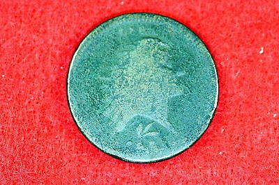 Estate  Find 1793 - Wreath Lettered Flowing Hair Large Cent!!!! #G8420