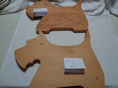 pre-owned quality handmade scottie dog shaped wooden cutting board CHOOSE FROM 2