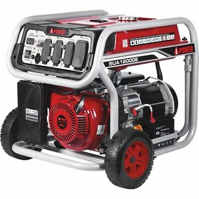 A-iPower Portable Generator 12,000 Surge Watts, 9000 Rated Watts, Electric Start