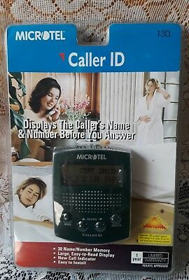 Microtel Caller ID Model 130.Sealed New.NOS NIP