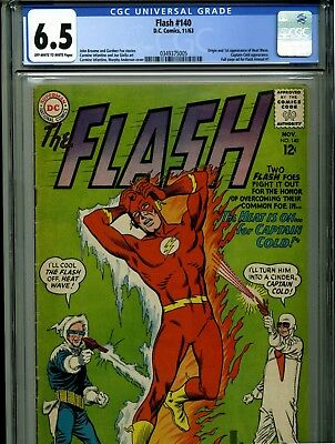 The Flash #140 - November, 1963 - CGC 6.5 - (KEY -First appearance of Heat Wave)