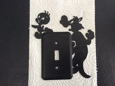 Warner Brothers Studio Store 1994 Sylvester And Tweety Light Switch Plate Cover