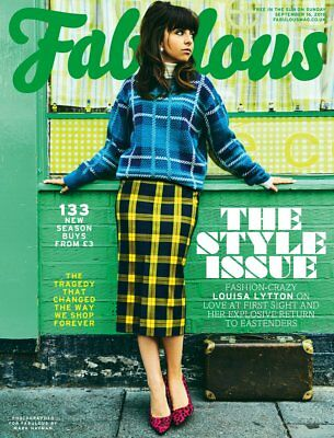 Fabulous Magazine September 2018: LOUISA LYTTON COVER & FEATURE Gok Wan